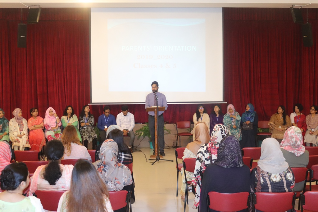 Parents Orientation 2019-20