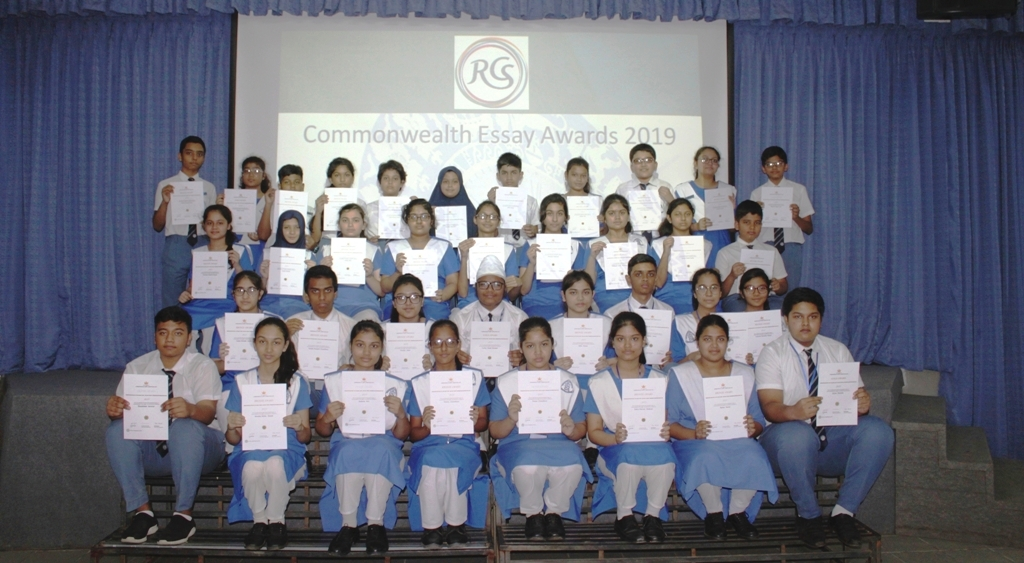 Royal Commonwealth Essay Competition Winners 2019