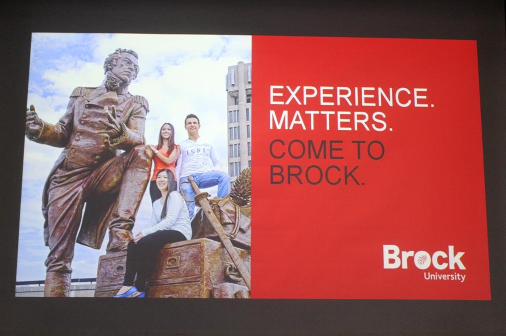 Brock University Seminar 2019