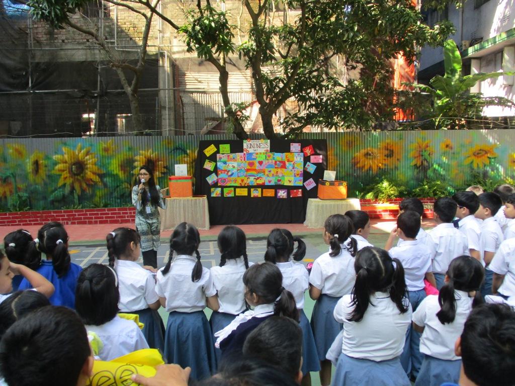 World Kindness day CGS Lower School