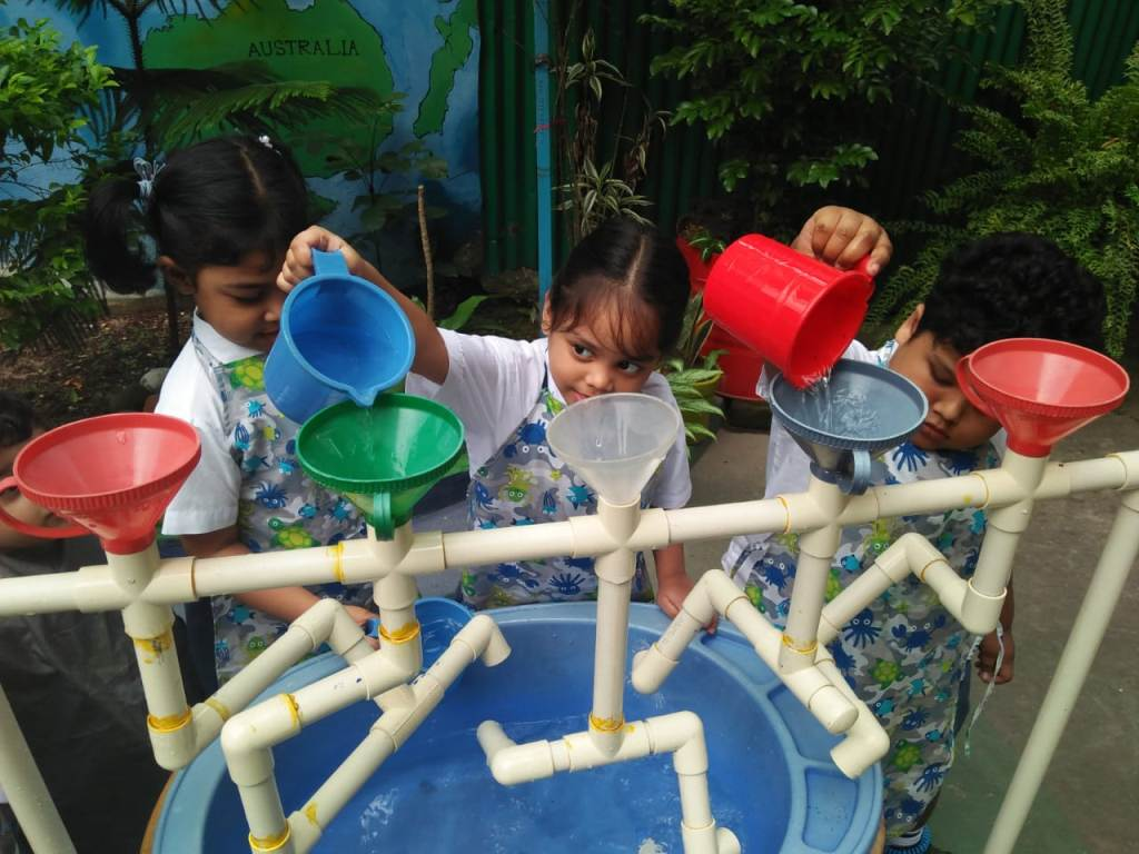Playgroup Students Activity