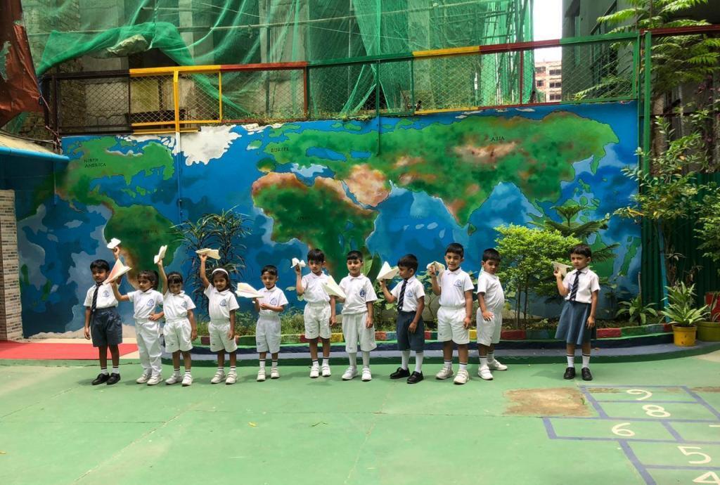 Nursery Students Activity