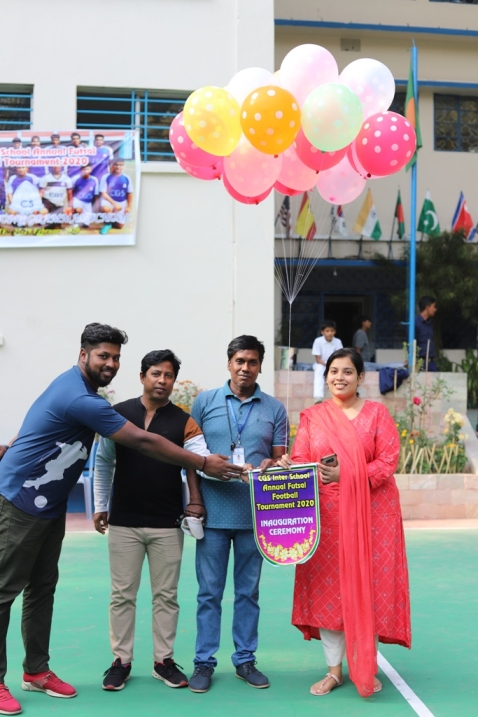 CGS Inter School Annual Futsal Football Tournament 2020